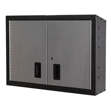 international gosii 32 in and 2 doors wall cabinet gray