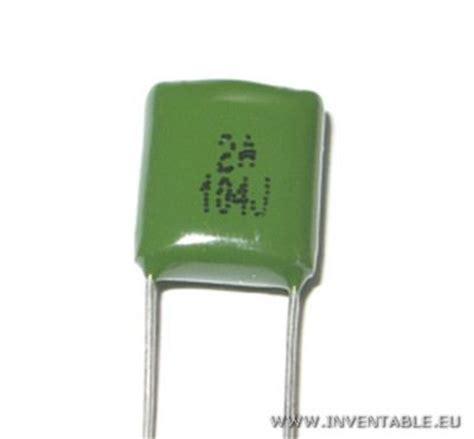 como se leen los valores de los capacitores inventable