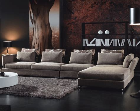 contemporary living room furniture adding style