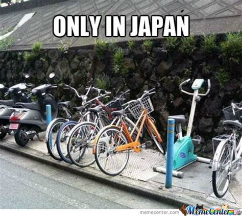 Bike Meme - exercise bike parking by william ramey 549 meme center