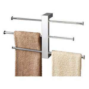 gedy by nameeks bridge wall mounted sliding 3 tier towel