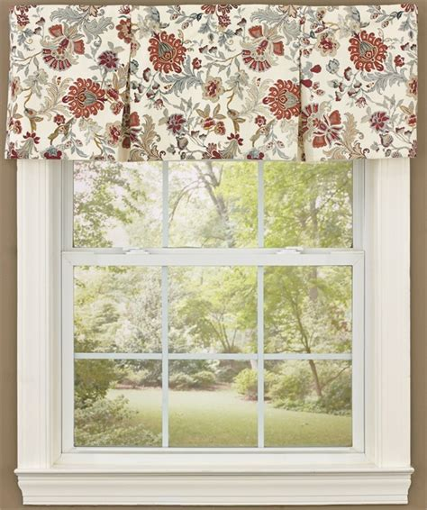 15 different valance designs beckett lined pleated curtain valance 45 quot x 15 quot