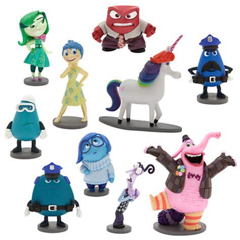Figure Set 9pcs Inside Out nuevo genuino disney pixar inside out juego de 10 figuras conjunto de juguete ebay