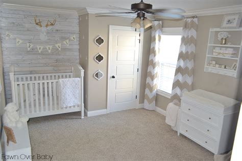 a rustic chic neutral nursery project nursery