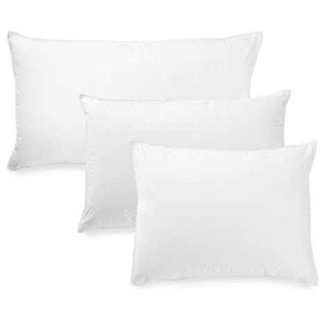 down pillows bed bath and beyond buy mypillow 174 medium fill king pillow from bed bath beyond