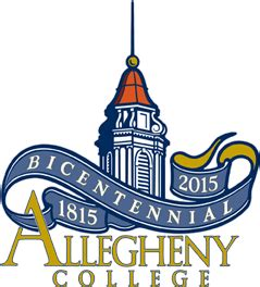 Allegheny College Academic Calendar Academic Calendar 171 Provost And Dean Of The College