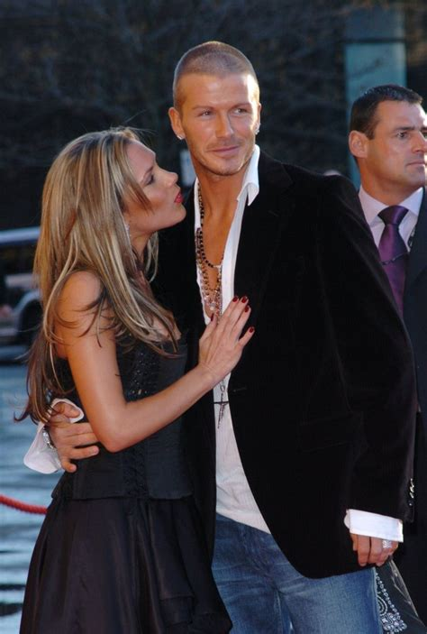 David Beckham Marriage Secrets by They Cozied Up At A In April 2004 David