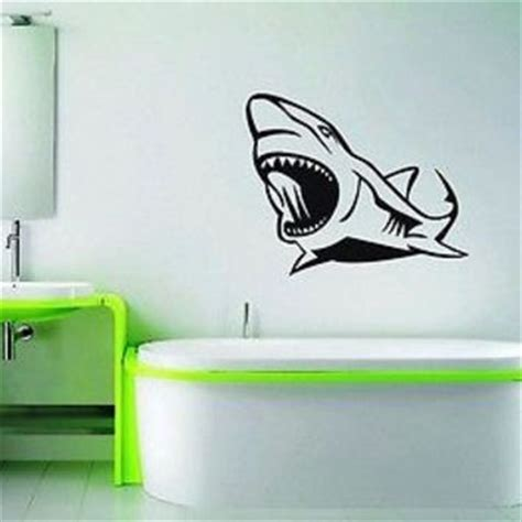 Shark Bathroom Decals Best Shark Bathroom Products On Wanelo