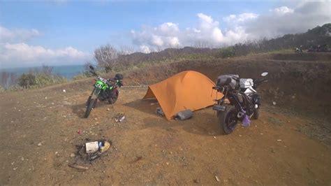 touring camping naik motor jakarta wonosobo dieng