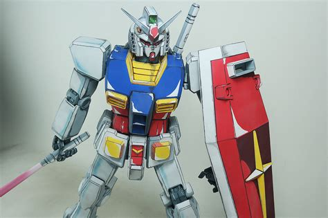 gundam pg 1 60 rx 78 2 gundam anime colors custom customized build