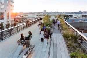 Garden Arch With Bench Take A Walk On The High Line With Iwan Baan Archdaily