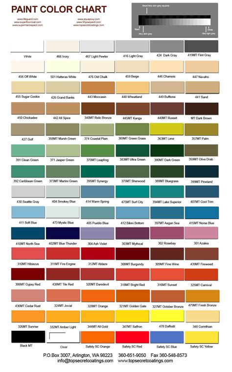 automotive metallic color chart html autos weblog