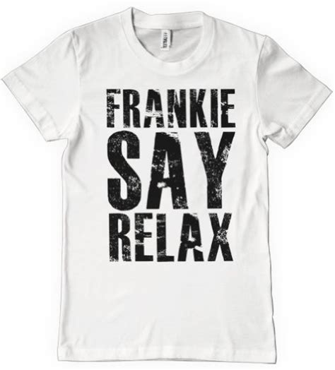 Relax T Shirt frankie says relax t shirts at 80sfashion clothing