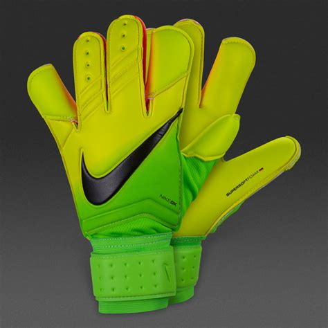 sarung tangan kiper nike gk grip 3 electric green volt black