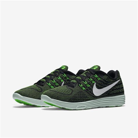 green running shoes womens nike womens lunartempo 2 running shoes volt green white