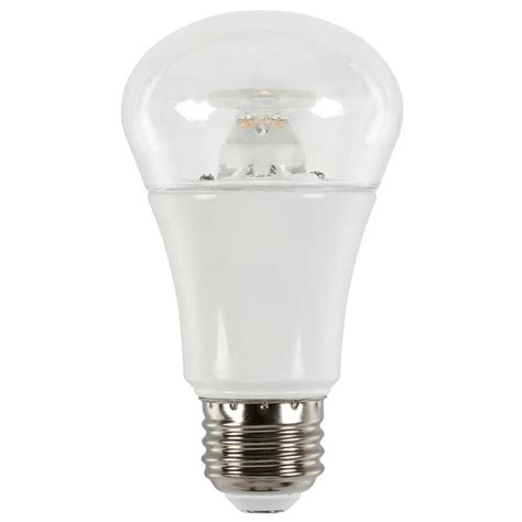 Westinghouse Led Light Bulbs Westinghouse 40w Equivalent Soft White A19 Dimmable Led Light Bulb 0514300 The Home Depot