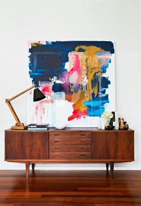 sideboard cabinet mid century modern retro furniture interior design