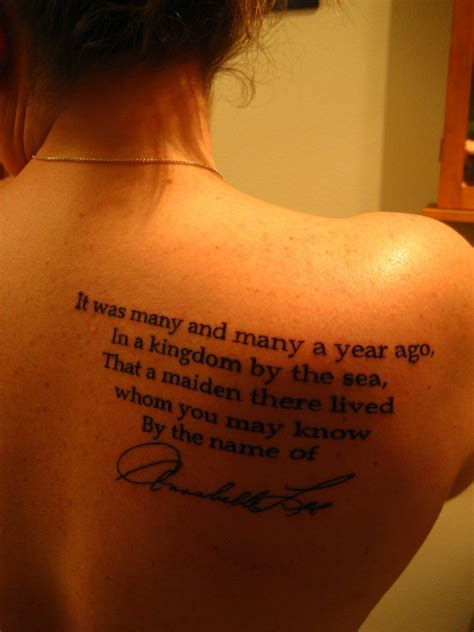 poe tattoo edgar allan poe tattoos contrariwise literary tattoos
