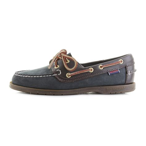 navy boat shoes womens womens sebago victory navy wine full leather brown blue