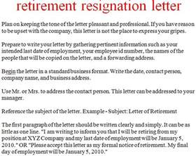 Retirement Resignation Letter by Resignation Letter Template October 2012