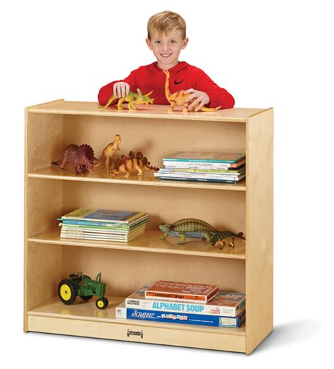 jonti craft fixed shelf bookcase