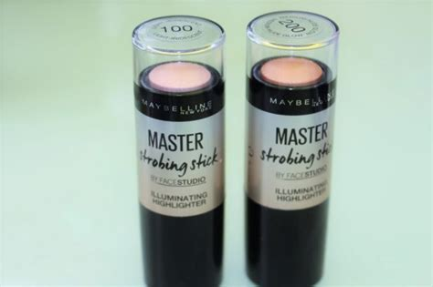 Maybelline Master Strobing Stick maybelline master strobing stick review swatches