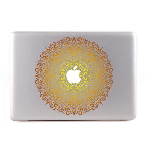 Laptop Aufkleber Gold by Ornamental Mandala Gold Macbook Skin Aufkleber