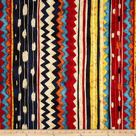 kilim pattern fabric santa fe pow wow kilim bright multi discount designer