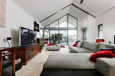innendekoration ideen für wohnzimmer wohnzimmer in grau braun
