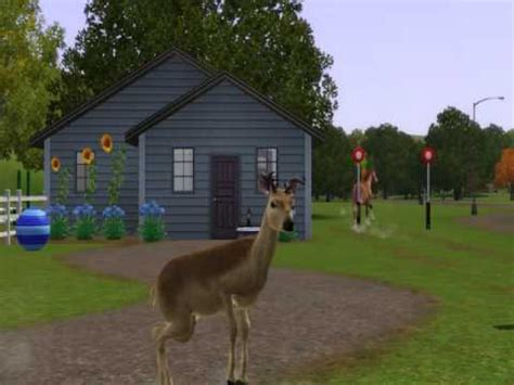 sims 3 pets challenges sims 3 pets deer