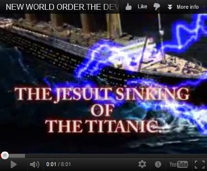 jesuits illuminati ezekiel38rapture the jesuit illuminati sinking of the titanic