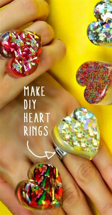 valentines gifts for teenagers how to make diy shaped rings rings