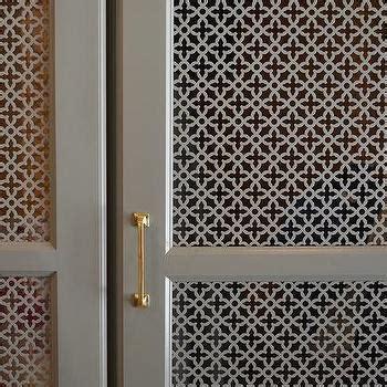 quatrefoil cabinet design ideas