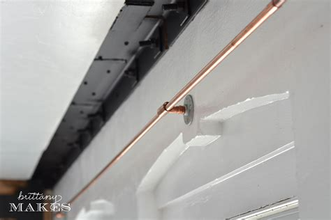 copper pipe curtain rod how to make a curtain rod from copper plumber s pipe