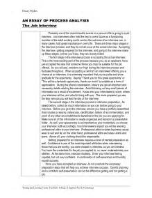 Sample Essay Question For Job Interview Essay Writing For Interview Steps To Writing An Essay