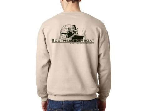 airboat shirts southern airboat sweat shirt sand