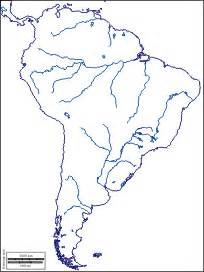south america blank physical map blank map of south america physical features