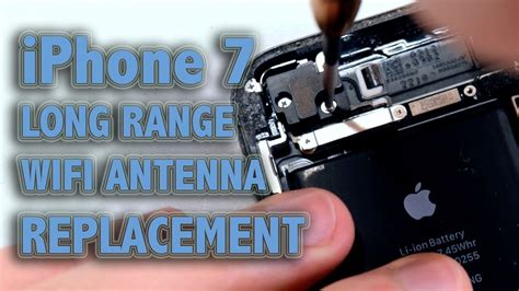 iphone  long range wifi antenna replacement youtube