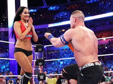 nikki bella and john john cena and nikki bella are over already celebrity insider