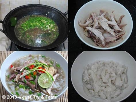 homemade mie beras  ayam kuah jahe   taste