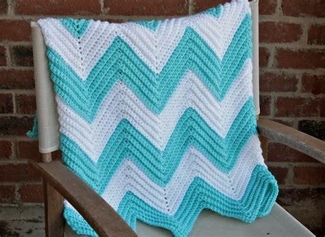 new crochet pattern for baby chevron blanket crochet crochet chevron baby blanket teal and white chevron