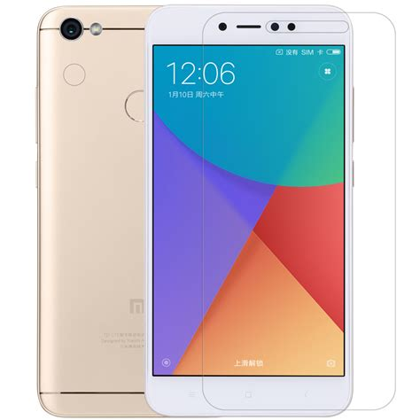 Peonia Anti Fingerprint Premium Xiaomi Redmi Note 5a Std nillkin matte anti fingerprint screen lens protector for