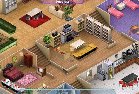 house layout for virtual families 2 virtual families 2 girl games town