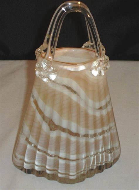 Glass Purse Vase by 1000 Images About Murano Glass Purses Vase On