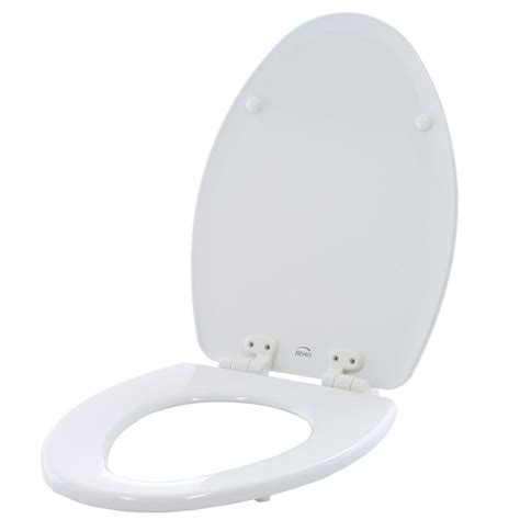 toilet seat bemis adjustable never loosens elongated closed