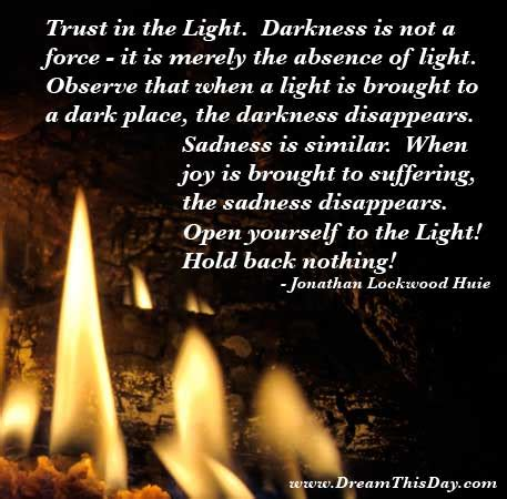 light overcomes darkness quotes quotes and sayings quotes about