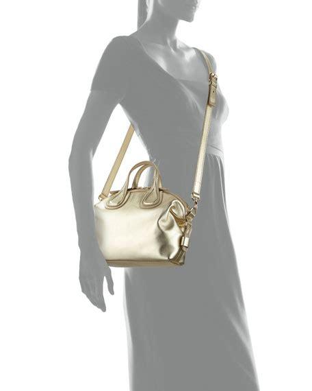 Givenchy Nightingale Bag Smooth Hardware Gold 10145 givenchy nightingale mini leather satchel bag gold