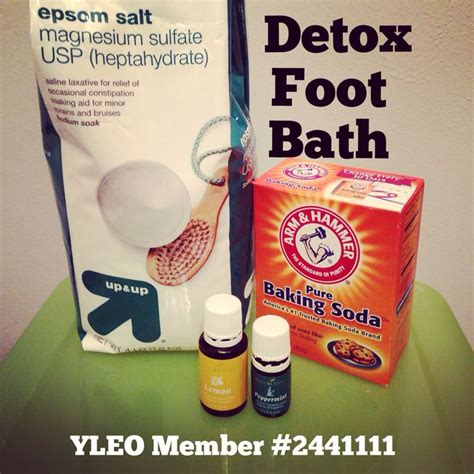 Detox Foot Baths Recipes by Best 25 Living Detox Ideas On Uses