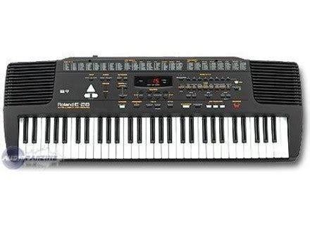 Keyboard Roland E Series user reviews roland e 28 audiofanzine
