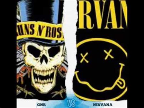 Vs Nirvana guns n roses vs nirvana quot m 225 s like de quot
